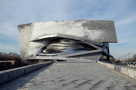 Paris Lights Up Paris Philharmonie