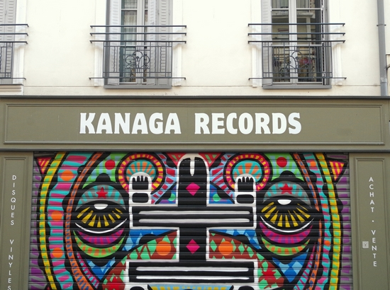 Kanaga Records Paris Lights Up