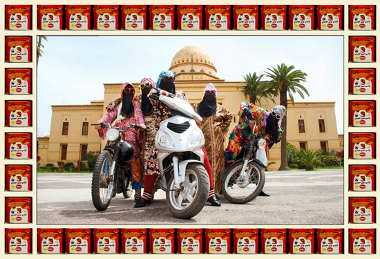 Kesh Angels, 2010. Photograph Hassan Hajjaj - Copie